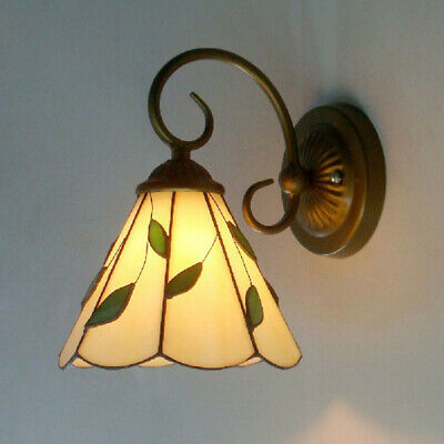 New Baroque Tiffany Stained Glass Wall Lamp Aisle Light Hallway Wall Sconces
