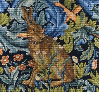 DMC Tapestry Kit - The Hare from The Forest Tapestry - V & A Museum Collection