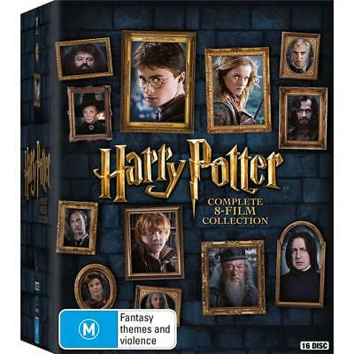 Harry Potter Complete 8 Movies : YEARS 1 - 7 : NEW Blu-Ray