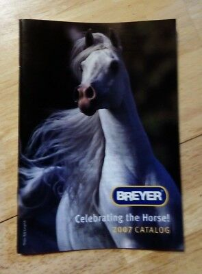 2007 Breyer Consumer catalogue (leaflet from box)
