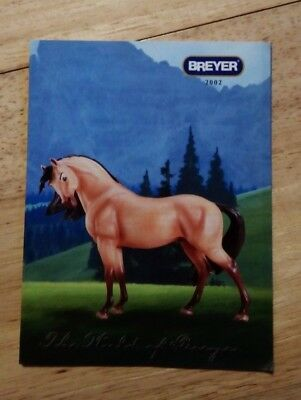 2002 Breyer Consumer catalogue (leaflet from box)