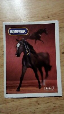 1997 Breyer Consumer catalogue (leaflet from box)