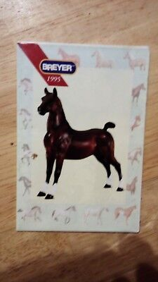 1995 Breyer Consumer catalogue (leaflet from box)