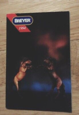 1994 Breyer Consumer catalogue (leaflet from box)
