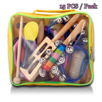 Wood Child Percussion Instrument NASUM Musical Instruments Rhythm Toys Set Gift