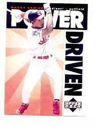 1996 Upper Deck Power Driven #PD13 Manny Ramirez - NM-MT