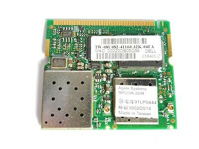 AGERE SYSTEMS MPCI3A 20 R DRIVERS FOR WINDOWS