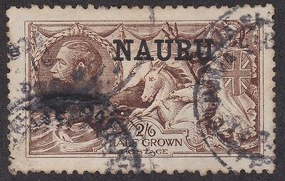 Kappysstamps Id9450 Nauru 13 Used Cats 125.00 Huge Margins Jumbo