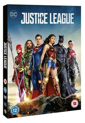 Justice League DVD New 2018 Region 2 Ben Affleck