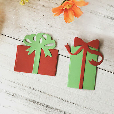 Christmas gift box Metal Cutting Dies For DIY Scrapbooking Card Paper Album GN
