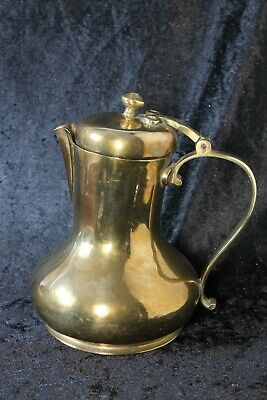 Vintage Russian Brass Water Jug Pitcher