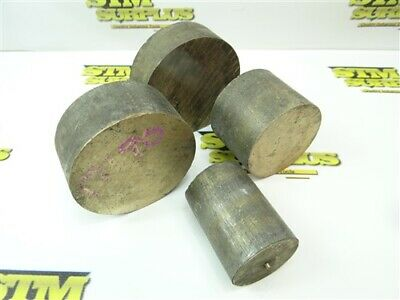 "9Lb Solid Bronze Round Stock 1-1/2"" To 3"""