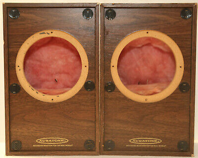 Auratone 5S Studio Reference Speakers Cabinets