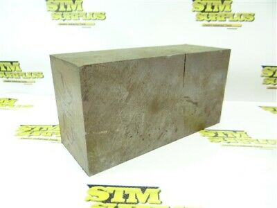 """28Lb A2 Tool Steel Solid Square Stock 3"""" X 4"""" X 8"""""""