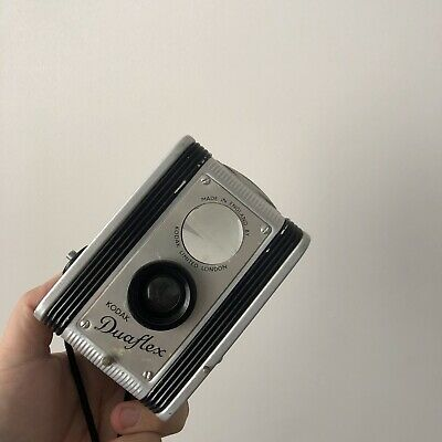 VINTAGE KODAK DUAFLEX FILM CAMERA 620 FILM medium format TLR,sold as is