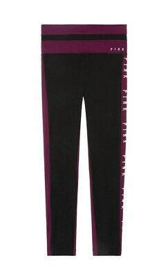 98fe4c6252bf8 NEW VICTORIA'S SECRET PINK ULTIMATE COLORBLOCK HIGH WAISTED Legging ...