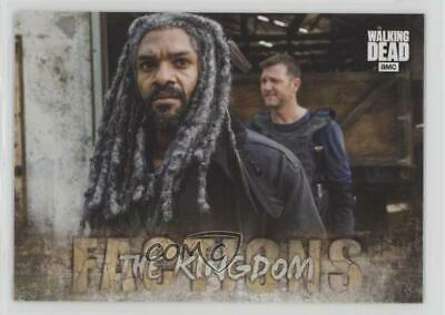 2018 Topps Walking Dead Road to Alexandria Factions The Kingdom #F-9 3g2