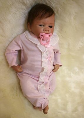 Reborn Baby Doll Toddler Real Looking Newborn Baby Vinyl Silicone Doll 22inch