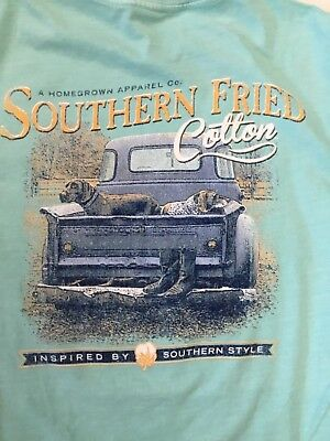 1195e0a6 Southern Fried Cotton A Homegrown Apparel Co Short Sleeve T Shirt Youth  Sizes
