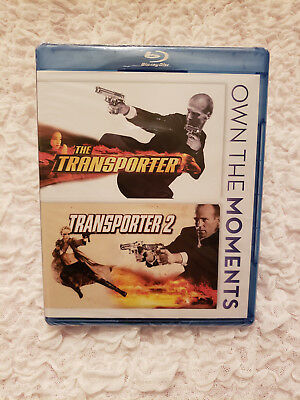 The Transporter + Transporter 2 Double Feature Bluray Brand New Fast Free Ship