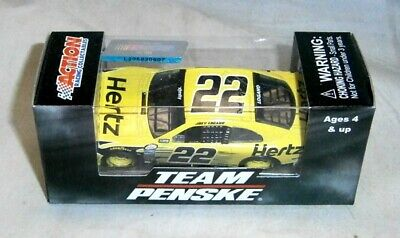 NEW VHTF NASCAR 2019 JOEY LOGANO #22 PENNZOIL Mustang 1//64 CAR IN STOCK