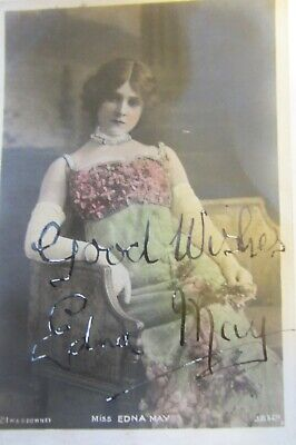 Early 20th Century Famous Actresses – autographed postcards. c 50+