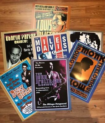 Jazz Pack 7 Posters  18X24 POSTER Free Shipping