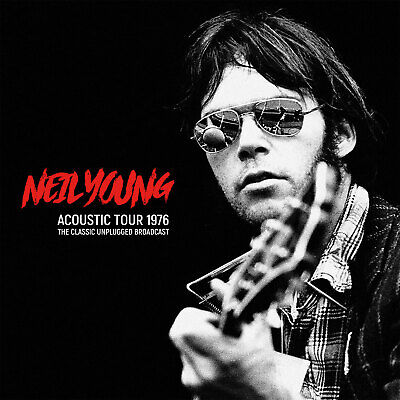 NEIL YOUNG Sealed 2019 UNRELEASED LIVE ACOUSTIC 1976 CONCERT 2 VINYL RECORD SET