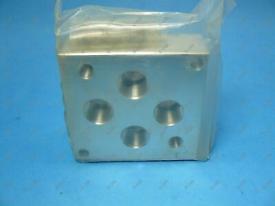 """Daman AD05HSPB12P Valve Subplate NFPA T3.5.1-D05 High Flow Backported 3/4"""""""