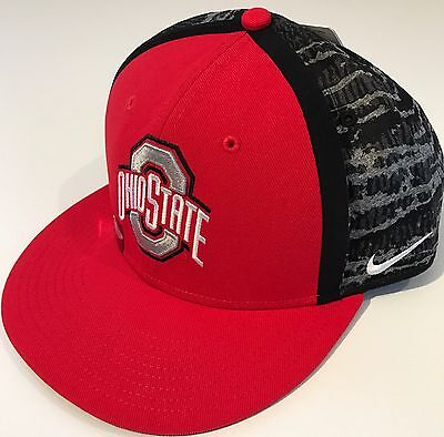 premium selection 21164 33b30 NEW Ohio State Buckeyes OSU Nike True Sideline Player Cap Hat OSFM Snap  MSRP  30