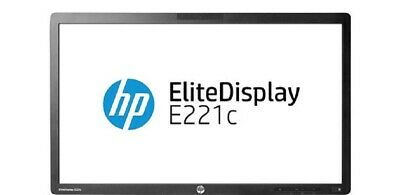 "HP E221c EliteDisplay 21.5"" 1920x1080 Widescreen Monitore LED Backlit IPS Webcam"