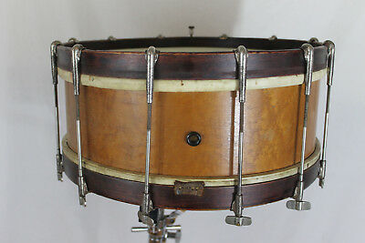 """1904-1910 Oliver Ditson Company 6"""" x 15.5"""" snare drum."""