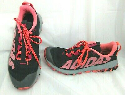 a79baaa92 Adidas Vigor Tr 6 Sneakers Shoes Walking Running Trail Black Pink Womens  Size 7