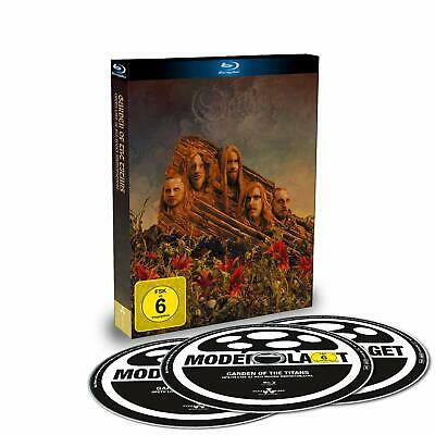 Opeth - Garden Of The Titans (Live Amphitheatre)  Bluray + 2Cd Digibook   New+