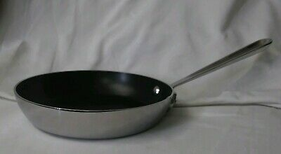"All-Clad MetalCrafters 7.5"" Inch Stainless Steel Non Stick French Skillet Frypan"