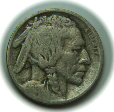 1913 Type One Buffalo Indian Head Five Cent Nickel - 5C - No Reserve!