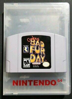 Authentic Conker's Bad Fur Day Nintendo 64 N64 Cartridge Cart Only