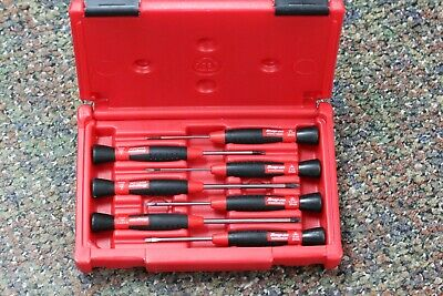 Snap-On 7 pc Electronic Miniature Screwdriver Set SGDE70ESD