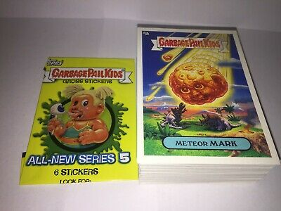 GPK ANS series 5 complete set All New Series 80 card set