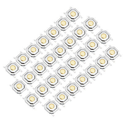 30PCS 5x5x1.5mm Momentary Panel PCB SMD SMT Pushbutton SPST Tactile Tact Switch