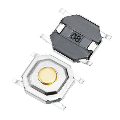 50Pcs 5x5x1.5mm Momentary PCB SMD SMT Push Button SPST Tactile Tact Switches