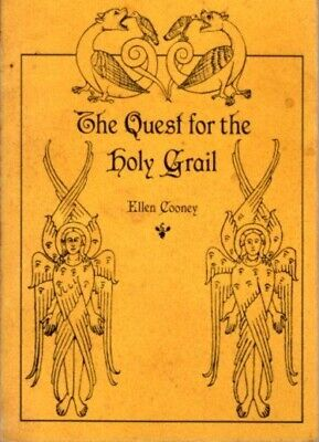 Ellen Cooney / THE QUEST FOR THE HOLY GRAIL Signed 1st Edition 1981