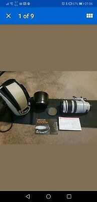 Canon EF 100 - 400mm F/4.5 - 5.6 L IS USM Zoom Lens