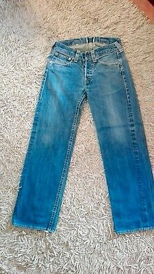 Levi's Enginereed Uomo W32 L34 jeans vintage Red Tab not Lee Wrangler