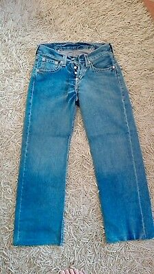 Levi's Enginereed Uomo W30 L34 jeans vintage Red Tab not Lee Wrangler