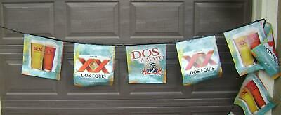 Dos Equis Beer New 22' Bar Banner Sign . ..12 Vinyl Banners .. Stay Thirsty