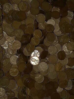 5,000 1940 - 1958 PDS Wheat Pennies