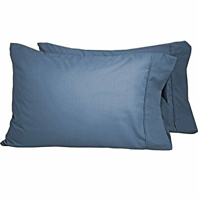 Premium 1800 Ultra-Soft Microfiber Standard Pillowcase, Set of 2, Coronet Blue