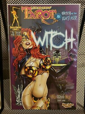 Tarot: Witch of the Black Rose #44 (BroadSword Comics, Cover A, 2007)