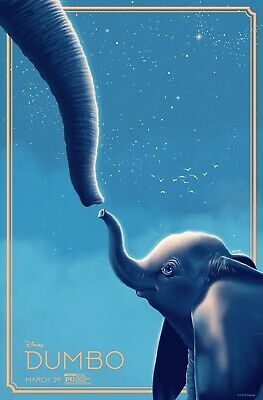 Dumbo Remake 2019 Disney Poster A4 A3 A2 A1 Cinema Movie Large Format #2